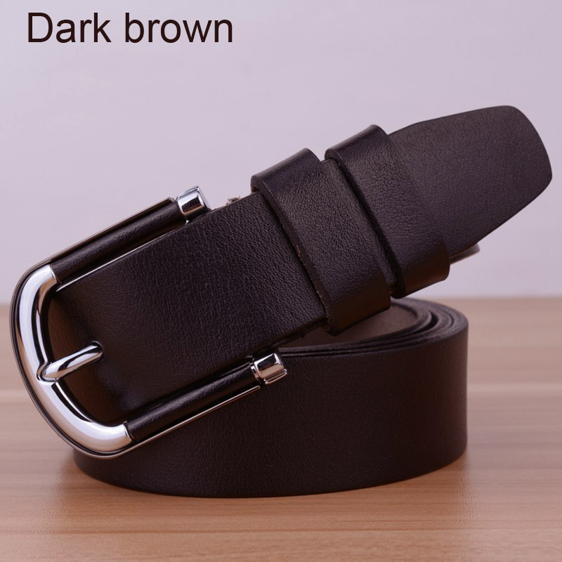 Hot Sale Famous Design Brand Luxury Belts Women Belts Famale Waist Strap Genuine Leather Premium Pin Alloy Buckle in Men 39 s Belts from Apparel Accessories