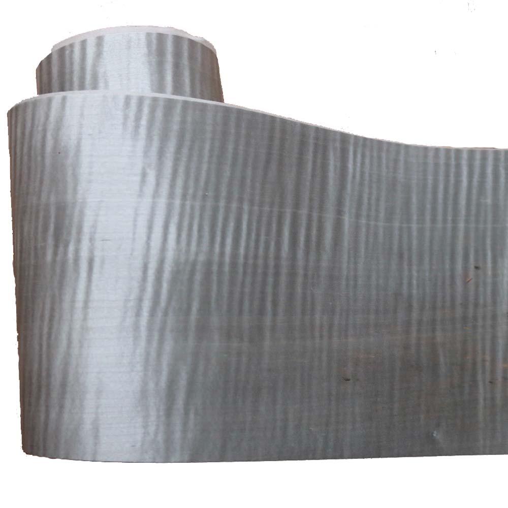 1Piece L:2.5Meters  Width:18cm Thickness:0.3mm Light Grey Maple Dyed Wood Veneer
