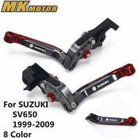 BY RACING Brake Clutch Levers For Suzuki SV650 SV650S 1999 2009 SV 650 650S 99 09