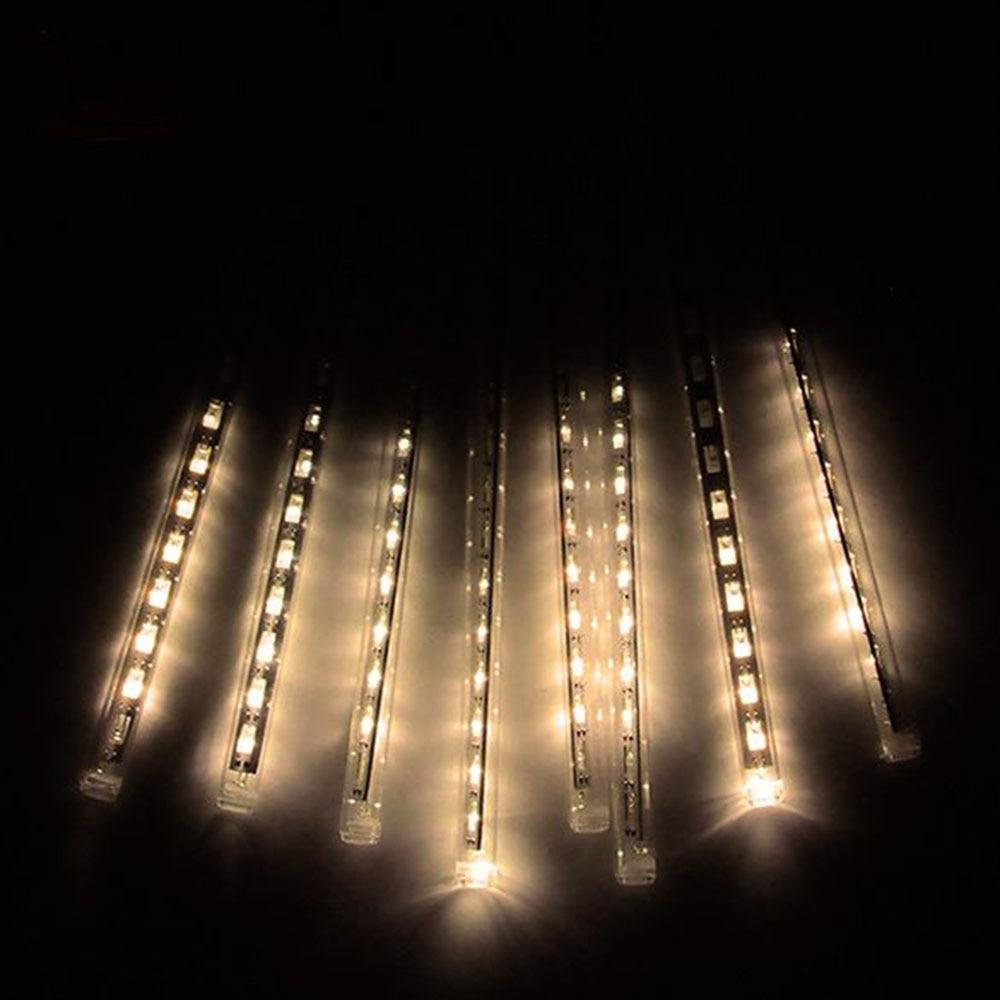 Flerfärg 30cm SMD2835 Meteor Duschregnrör AC100-240V LED Julljus - Festlig belysning - Foto 6
