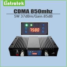 5 Watt Hohe 37dBm Gain 85dB CDMA 850 MHz Signal Booster repetidor de celular CDMA 850 MHz cdma-mobilsignalverstärker mit lcd display