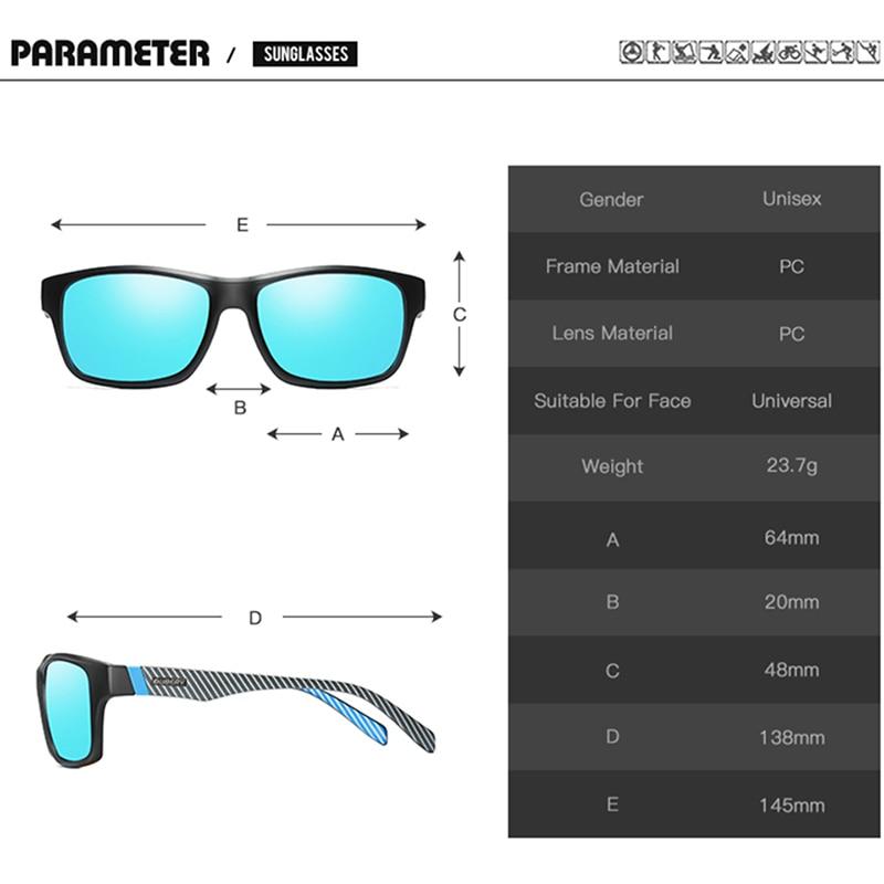 DUBERY Vintage Sunglasses Polarized Men 39 s Sun Glasses For Men UV400 Shades Spuare Black Summer Oculos Male 8 Colors Model in Men 39 s Sunglasses from Apparel Accessories