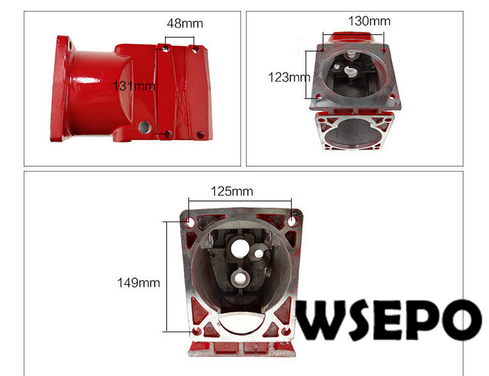 OEM Quality! Transmission Gear Case for 178F/186F/L70/L100/188F Diesel Engine Powered Cultivator/Garden Tillers paeonia tenuifolia l f plena