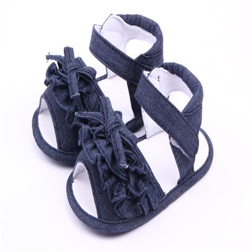 2018 Hot Sale Sandals Baby Anti-slip Sandal Shoes Summer Toddler First Walkers Canvas Shoes sandalia infantil kids melissa S