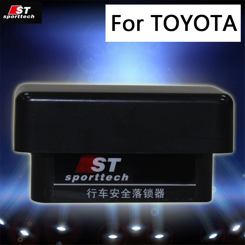 Automatic Door Lock Closing OBD system suitable Car speed lock device Fit For Toyota RAV4 Corolla Camry Yaris Levin Highlander