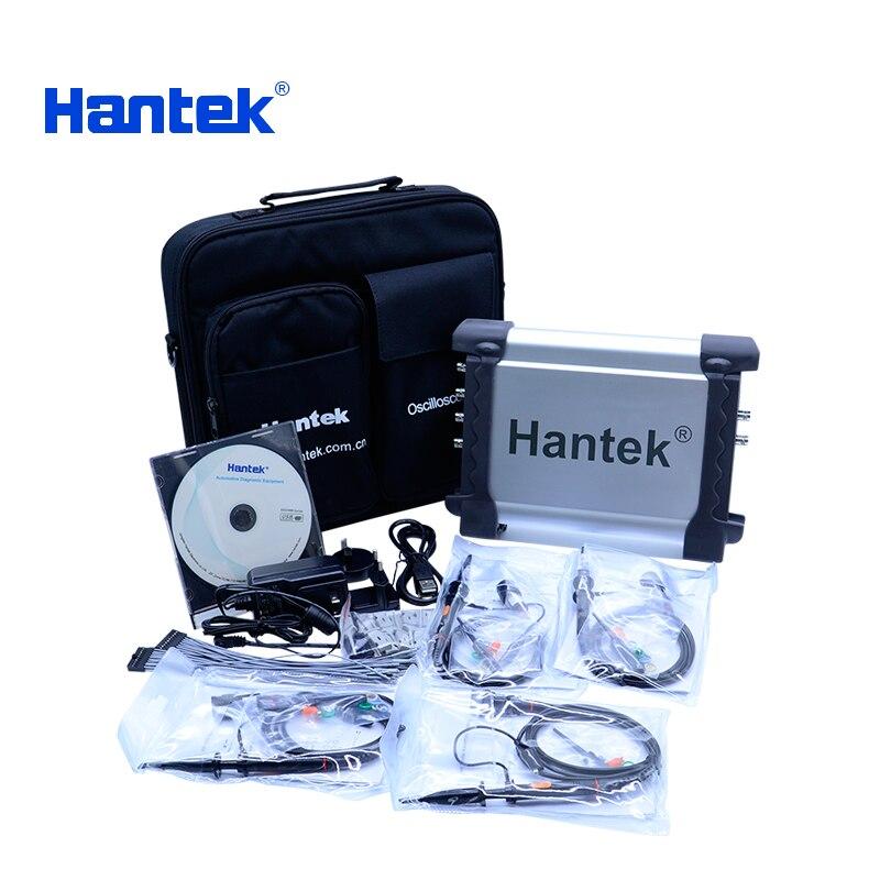 Osciloscópio Hantek DSO3254A 250 mhz 4CH + porta usb gerador de forma de onda de 16 bits 1CH 16CH logic analyzer gatilho externo