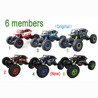 RC Car 4WD 2.4GHz Crawlers Rally climbing Car 4x4 Double Motors Bigfoot Car Remote 05033 Toys lepin