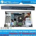 Intel PCI-E 1000 М 6*82583 В 2 * Intel I350 SFP Gigabit Брандмауэр Оборудования VPN с I3 3210 процессор
