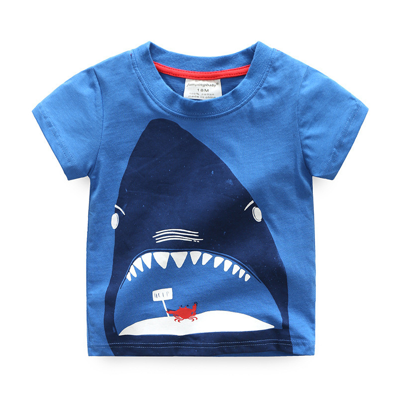 Jumpingbaby kids Clothes T shirt Cotton Camiseta Children Boy T-shirt Clothing Roupas Infantis Menino Baby T-shirts Costumes2017