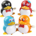 free shipping Small toy penguin chain wind up animal  toys