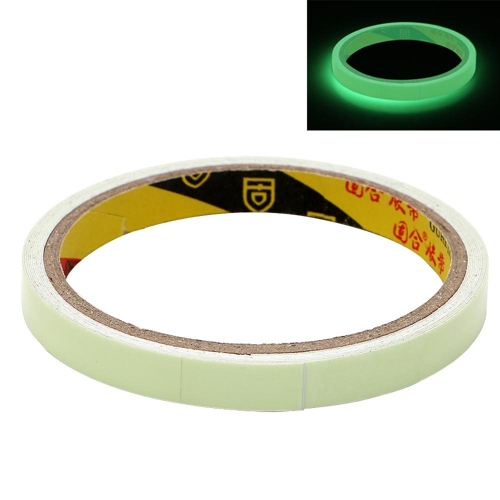 DIY 3m*10mm Warning Tape Night Vision Glow In Dark Luminous Tape Car Sticker Self-adhesive Car-styling Safety Security