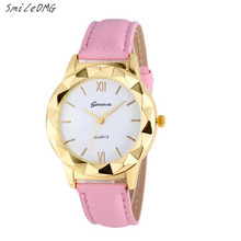 SmileOMG Fashion Geneva Fashion Women Diamond Analog Leather Quartz Wrist Watch Watches Christmas Gift Sep 13