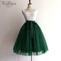 8 Layers Maxi Long Tulle Skirt Midi Women Skirt American Apparel Adult Tutu Princess Ball Gown