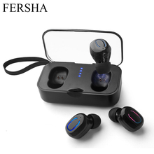 FERSHA T18 Bluetooth Headset 3D Stereo Wireless Headphones S