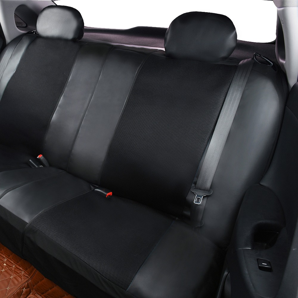 Image 4 - Artificial Leather Car Seat Covers 6 Color Universal Automotive Car Seat Interior Accessories 40/60 50/50 60/40 For 99% Cars-in Automobiles Seat Covers from Automobiles & Motorcycles