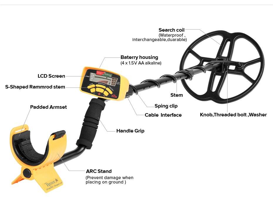 HTB1EvccBOOYBuNjSsD4q6zSkFXa9 - MD6350 Professional Underground Metal Detector Advance 12' Super Coil Gold Digger Treasure Hunter Pinpointer Stud Fider Detector