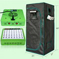 Mars Hydro LED Grow Light Reflector48 Full Spectrum Switches+70*70*160cm grow tent
