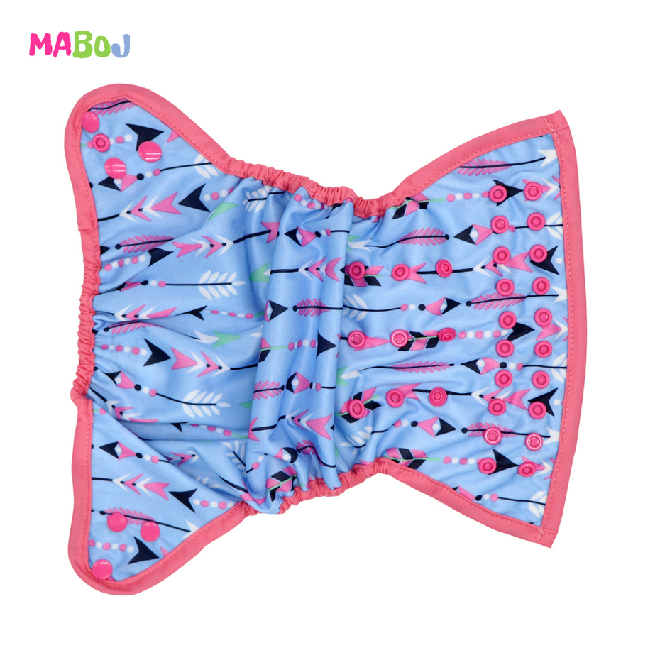 MABOJ Cloth Diapers Baby Waterproof Resuable One Size Newborn Nappy Cloth Diaper Cover One Size fit 7-40lbs Baby Wholesale New | Happy Baby Mama