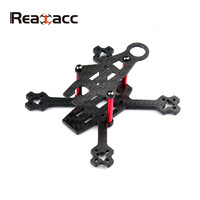 High Quality 10g Realacc Flea 80 80mm 3K Carbon Fiber Racing Frame Kit Support 16x16mm 15x15mm