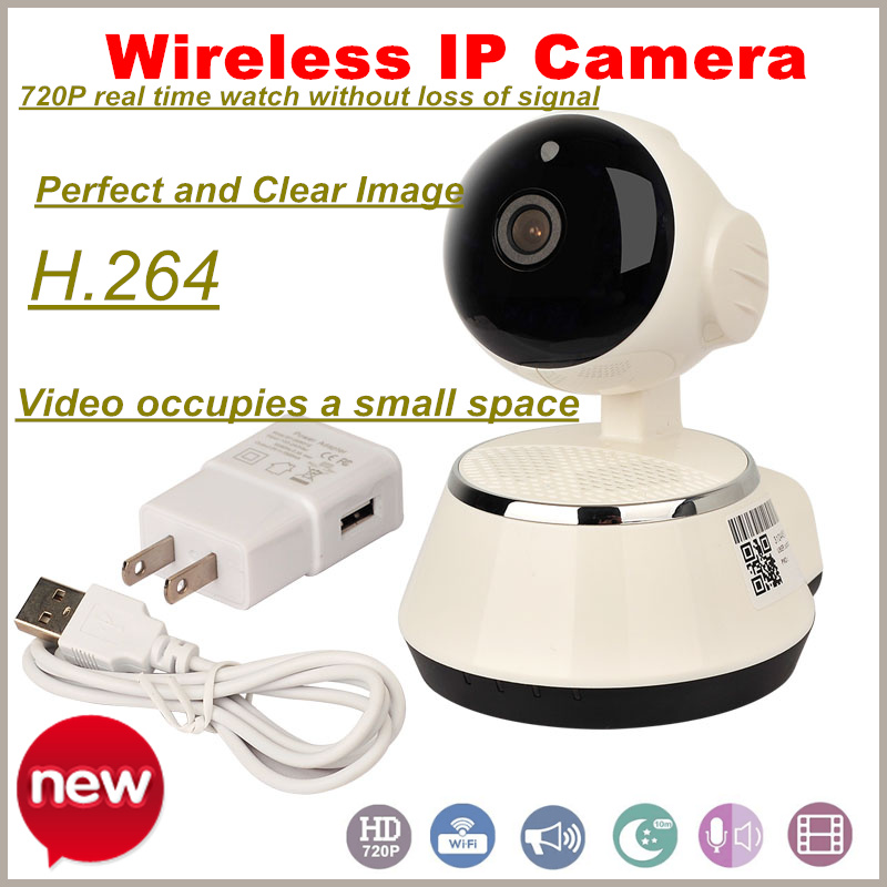 ФОТО Newest Arrival! HD 720P Wireless IP Camera Wifi Night Vision IP Network Camera CCTV P2P Security Camera CCTV System
