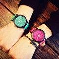 2017 Классический Новая Мода Простой Стиль Топ Известный Люксовый бренд кварцевые часы Женщины повседневная часы Кожа горячая Часы Reloj мухерес