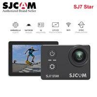 Оригинальная Экшн камера SJCAM SJ7 STAR Ambarella К 4 к Ultra HD WiFi DVR Автомобильная камера go waterproof pro Yi 4k мини Дрон видеокамера