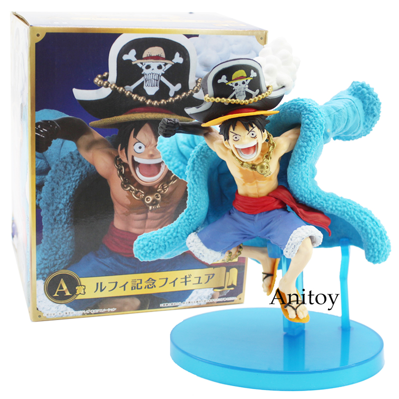 Anime One Piece 20th Anniverary Straw Hat Crew Monkey D Luffy PVC Figure Collectible Model Toy 14cmAnime One Piece 20th Anniverary Straw Hat Crew Monkey D Luffy PVC Figure Collectible Model Toy 14cm