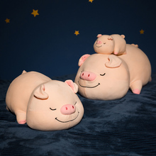 35/50/70 Cm Soft Pig Plush Toy Stuffed Cute Animal Lovely Dolls For Kids Appease Babys Room Decoration