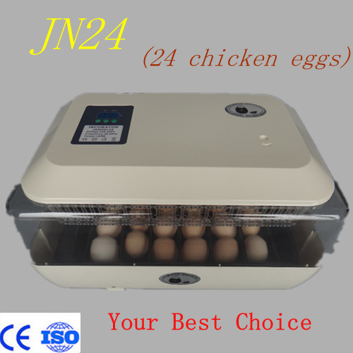 Brand new full automatic mini incubator machine JN24 holding 24 chicken eggs new 39 eggs full automatic incubator