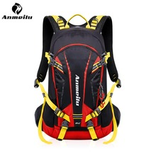 цена ANMEILU 20L Outdoor Sport Bag Climbing Rucksack Cycling Backpack Waterproof Bag Running Hiking Travel Bag With Rain Cover онлайн в 2017 году