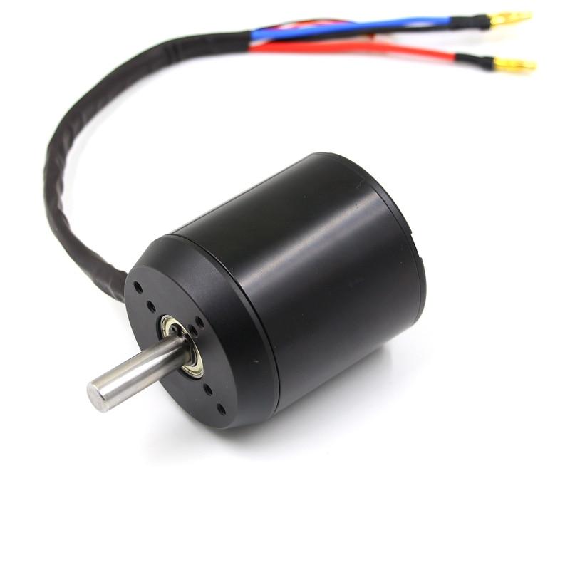 Esk8 6384 BLDC outrunner bürstenlosen 10mm welle motor 24 36 v SL sensored SD sensored für elektrische ausgleich roller skateboard-in Teile & Zubehör aus Spielzeug und Hobbys bei  Gruppe 1