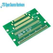5pcs/lot FPC 50PIN DIP adapter board FFC turn 2.54 TFT LCD seat 1mm 0.5mm