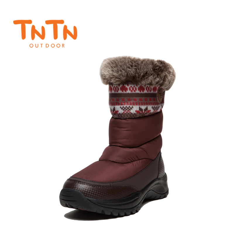 WomensS Ladies Ducks Down Warm Winter BootS Waterproof Shoes Snow Wools Skiing 100% High ...