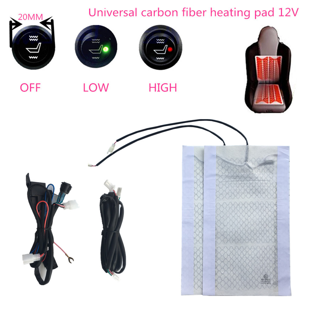 Seat-Heater Heated-Pads Heater-System/heating All-Car/carbon-Fiber Installed/universal