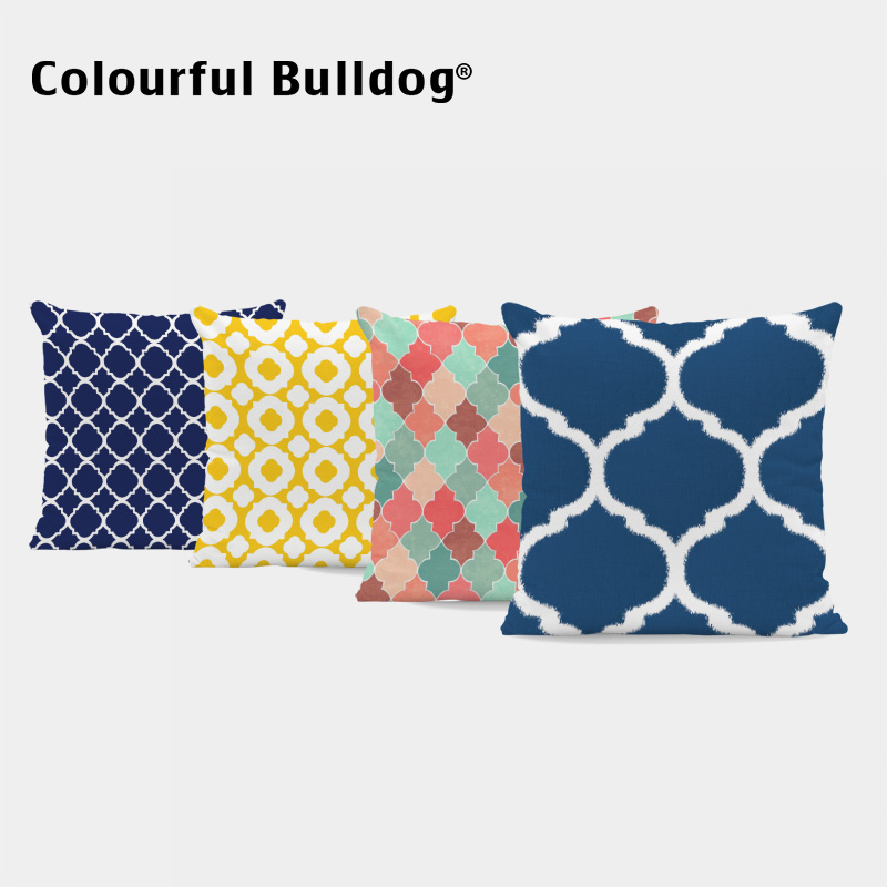 Marvelous Us 3 69 Geometry Striped Rectangle Cushion Cover Colorful Yellow Green Red Blue Pillow Case Living Room Couch Decor 43 43Cm Throw Pillow In Cushion Creativecarmelina Interior Chair Design Creativecarmelinacom