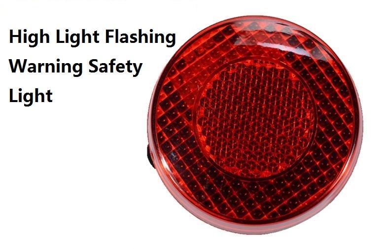 Blasting Flash LED Warning Light On The Shoulder Small Flashing Light