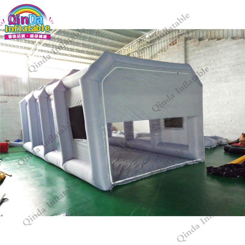 Hot sale mobile inflatable spray booth tent portable inflatable paint booth tents for car maintaining with carbon air filters free shipping inflatable spray paint garage booth tent high quality 8x4 5x3 meters cabine de peinture gonflable toy tents