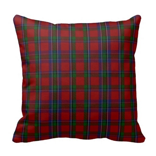 Good Case Stylish Clan Sinclair font b Tartan b font Plaid Cushion Cover Size 45x45cm Free