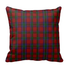 Good Case Stylish Clan Sinclair Tartan Plaid Cushion Cover (Size: 45x45cm) Free Shipping