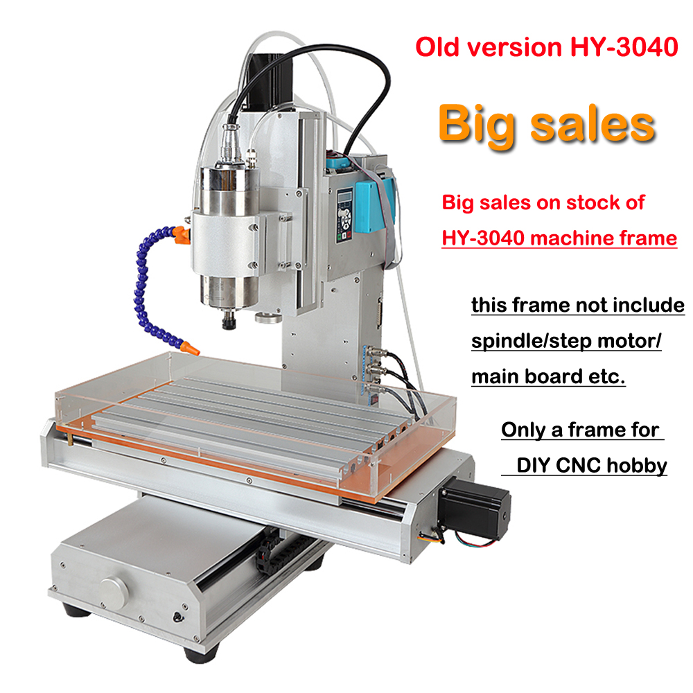 CNC 3040 5axis Engraving CNC Router Machine Frame DIY CNC Pillar Type for CNC Hobby new arrival 5 axis cnc machine pillar cnc 3040 engraving machine ball screw table column type woodworking cnc router lathe