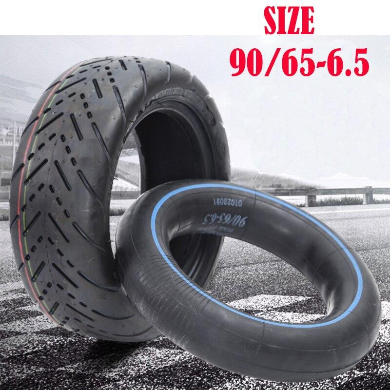 Надувная резиновая пневматическая шина для скутера колесо 90/65-6,5 11 дюймов внедорожная шина CST для скутера 10*2,50 внутренняя шина
