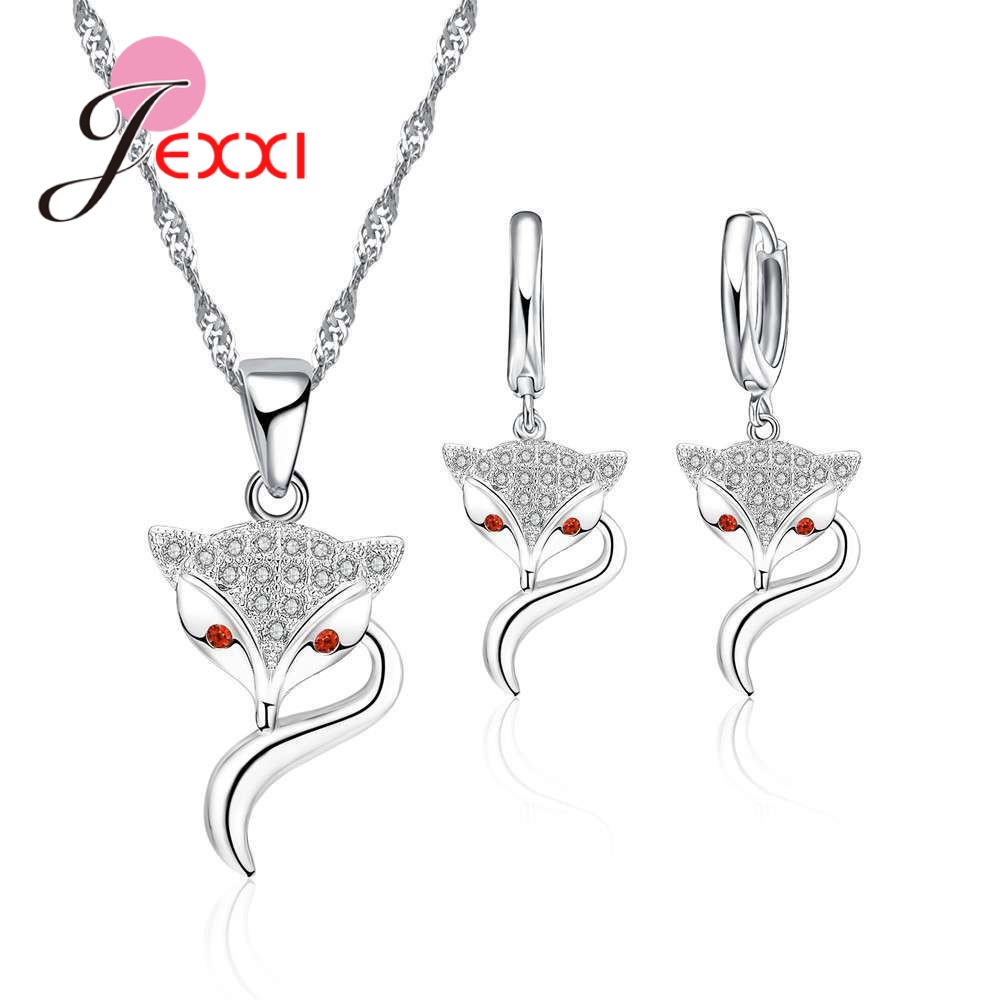 Charms Fox Jewelry Sets...