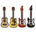 1:12 Dollhouse Miniatura Instrumento de Música de Guitarra Clásica Instrumento Juguetes Aprendizaje Educativo Juego de Imaginación Creativa Regalos de Los Niños