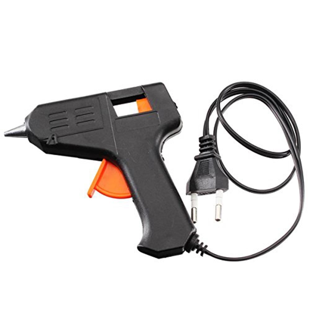 New EU/US Professional Art Craft Repair Tool 20W Electric Heating Hot Melt Glue Gun Sticks Trigger Art Repair Tool