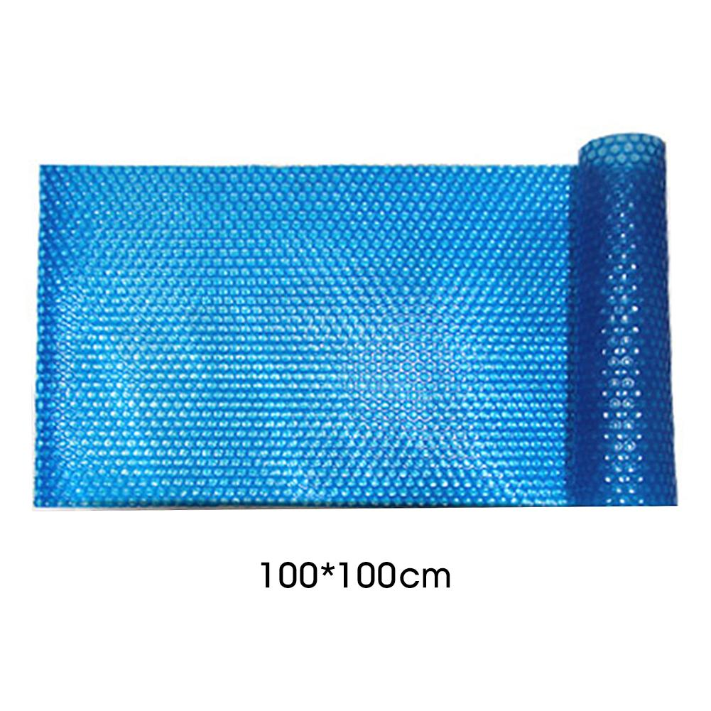 100x300cm Swimming Pool Cover For Solar Customize Easy Frame Pools Set Pool And UV Protected Dustproof Pond Cover Blue