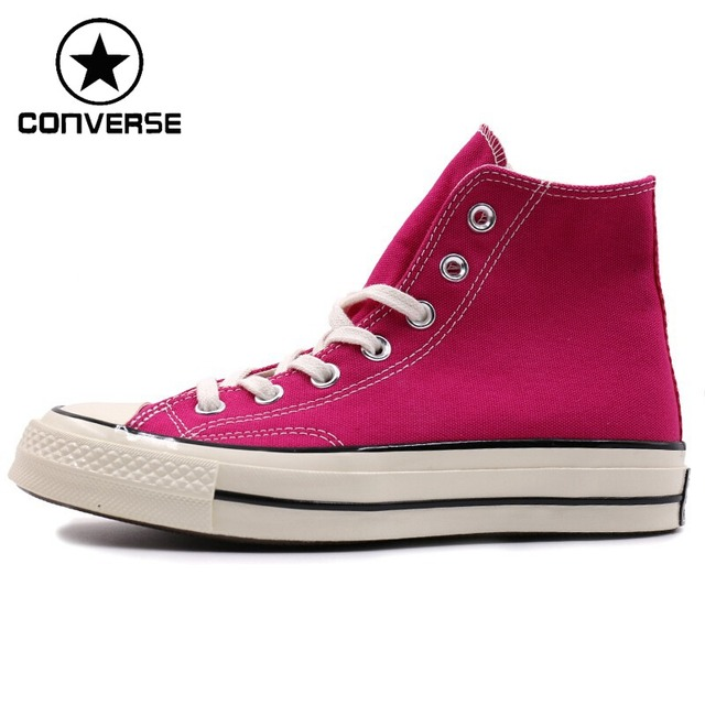 Original New Arrival 2018 Converse Chuck 70 Women s High Top Skateboarding  Shoes Canvas Sneakers 3f9d94aa3e