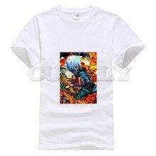 2019 harajuku round neck Tokyo Ghoul Kaneki Ken hip hop oggai / Sasaki graphic shirt men tshirts fashions shirts