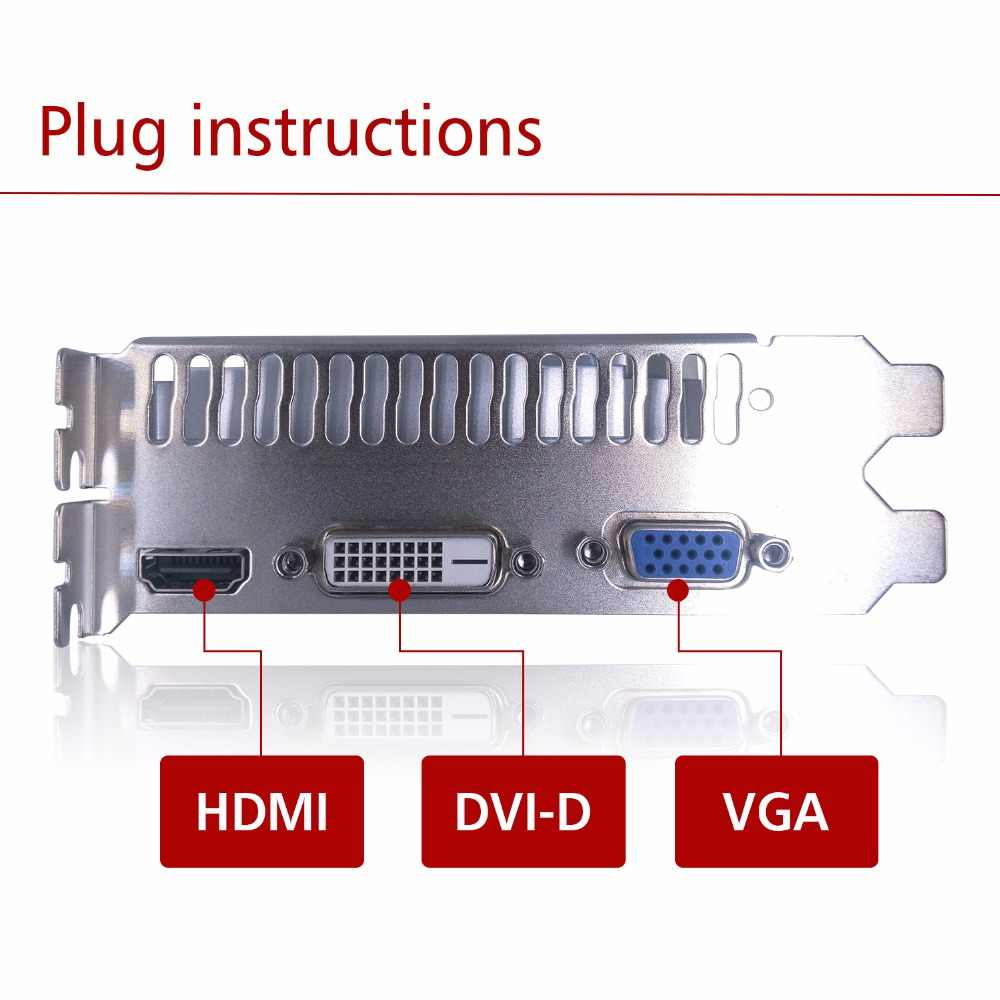 Card đồ họa PCI-E GTX750ti GPU 4 gam DDR5 cho nVIDIA Geforce Trò Chơi Máy Tính PC Máy Tính 4096 mb