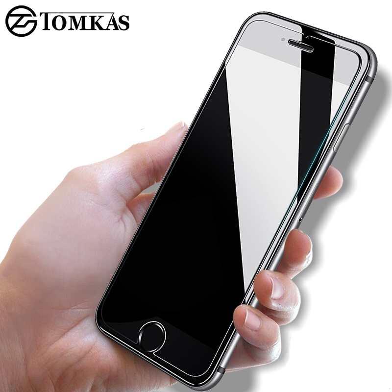 TOMKAS 5S Tempered Glass Screen Protector For iPhone 5S 5 SE 0.3MM Premium Protective Toughened Film For iphone SE Glass
