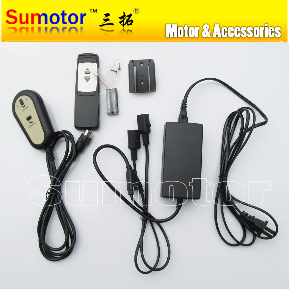 For 1 Linear actuator switch power supply electric adapter Progressive Automations Handle Manual and Wireless remote control kit dc5v 2nm multi wire control electric actuator with indicator and manual override
